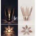 Candelabro flor Diseño