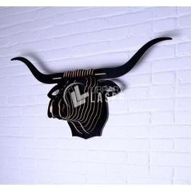 Design furniture in the shape of a bull