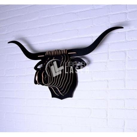 Diseño mueble en forma de toro