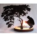 Tree-shaped candelabrum design