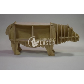 Furniture in the shape of a hippopotamus Design