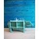 Diseño de mueble con forma de hipopótamo