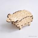 Sheep-shaped box Design