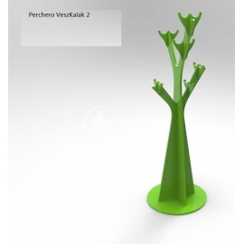 Diseño Perchero en forma de tronco de árbol