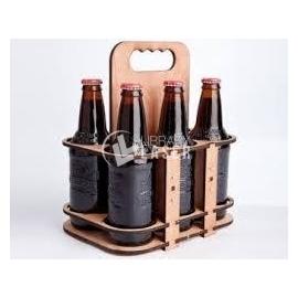 Diseño de estantería de cerveza
