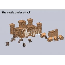 Ciudad medieval Diseño