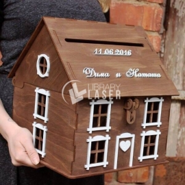 Diseño de Casa buzón de cartas