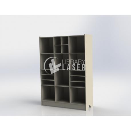 Diseño de mueble tipo biblioteca