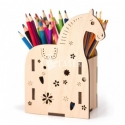 Pencil holder in the shape of a horse Design