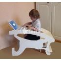Silla,mecedora y escritorio para bebe Diseño