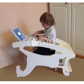 Baby chair, rocking chair and desk design