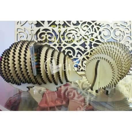 Diseño de tarjetero con forma de puercoespín