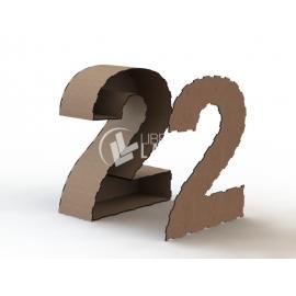 Números 3D Diseño