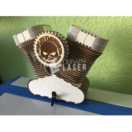 Motor de moto Diseño