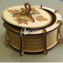 Caja redonda con tapa Diseño