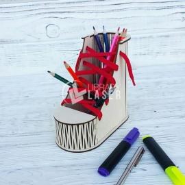 Zapato porta lapiz Diseño