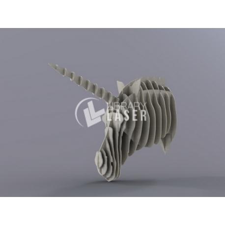 Design Unicorn head