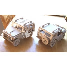 Diseño de carro Jeep