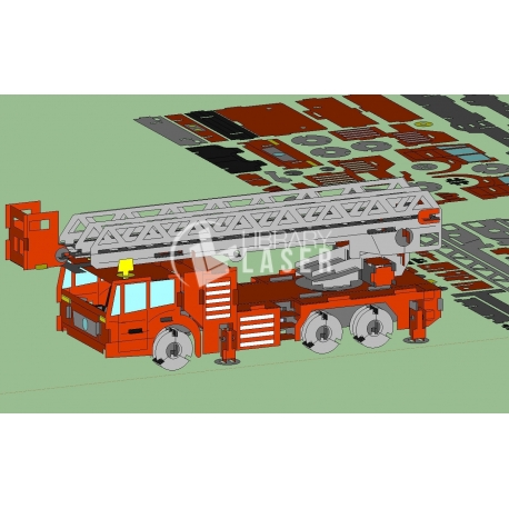 Design of fire truck
