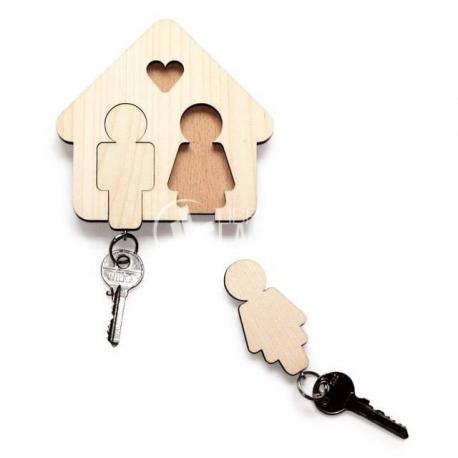 Baul con llave
