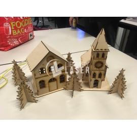 Casa navidad Diseño