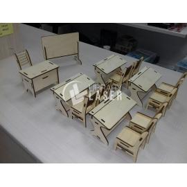 Salón de colegio Diseño