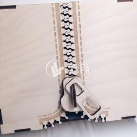 Caja cremallera Diseño