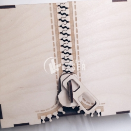 Caja cremallera