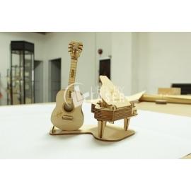 Guitarra y Piano Diseño